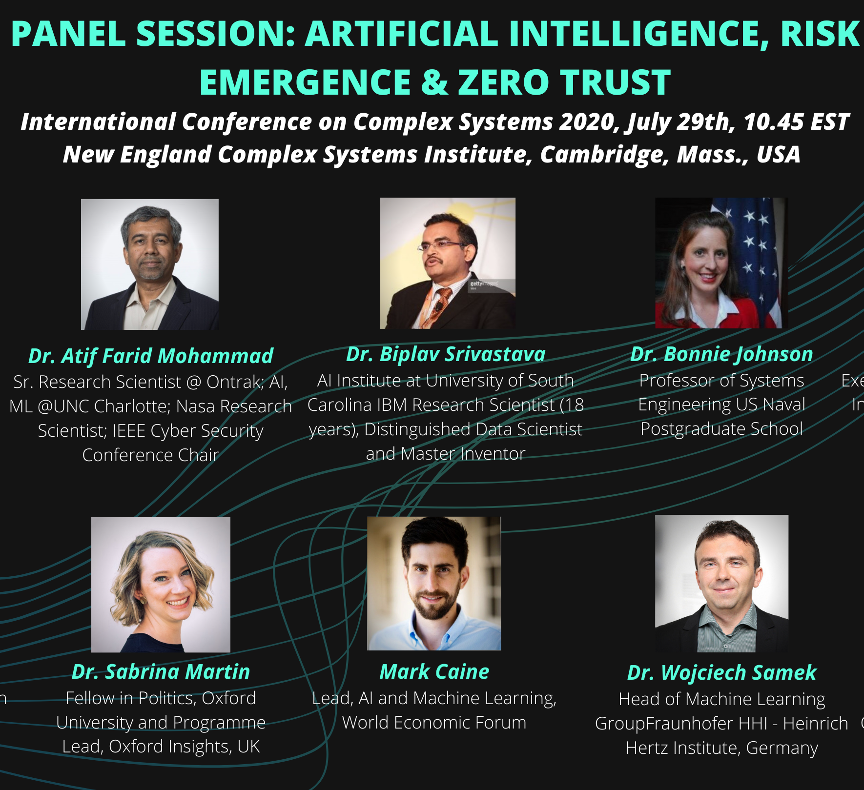 International Conference on Complex Systems Panel Session
